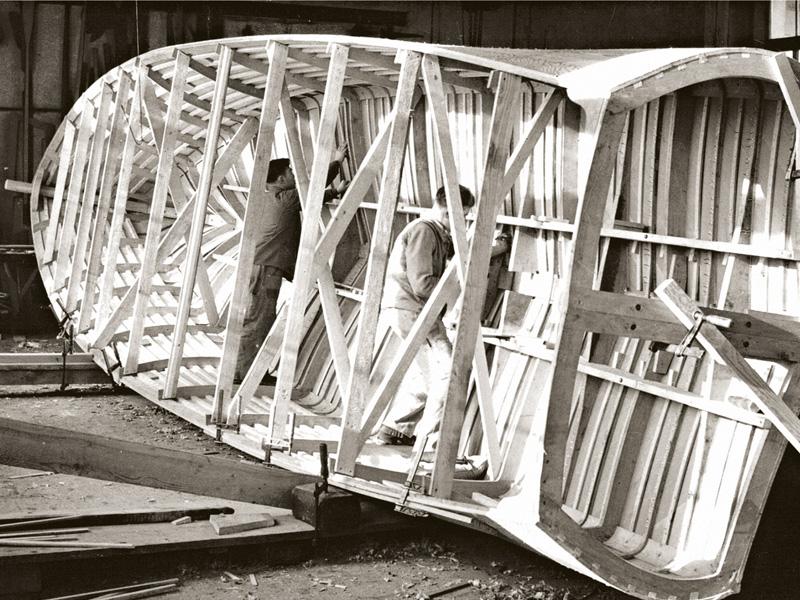 AJAX im Bau (1935/36).