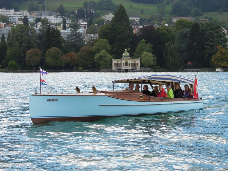 ANNIE, 2015 auf dem Zürichsee.
